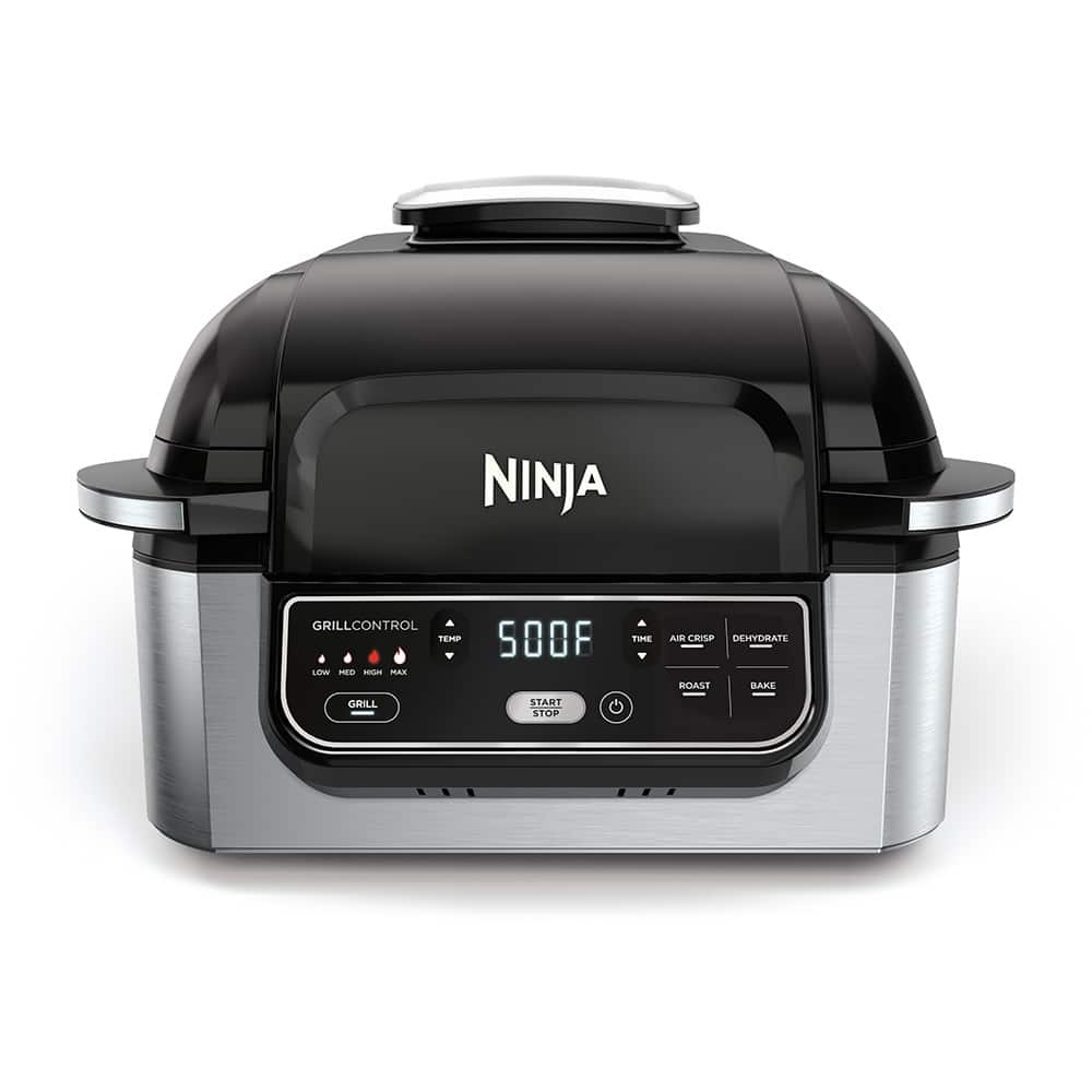 Ninja® Foodi® 4-in-1 Indoor Grill with 4-Quart Air Fryer Series | Official  Ninja® Product Support & Information